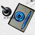 【富都笔业】供应质优价优的外贸磁悬浮笔 精美金属磁浮笔 5