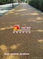 彩色透水石膠粘路面 3