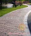 仿古磚水泥路面壓印鋪裝 2