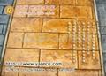 鵝卵石壓印水泥地坪材料 3