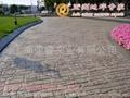 仿石水泥地面印花地坪鋪裝 3