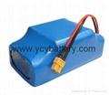 扭扭车锂电池 36V 4400mAh 2