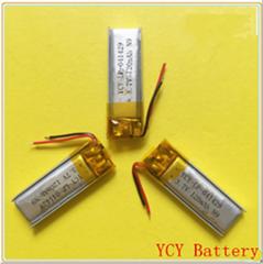 蓝牙耳机聚合物锂电池041429 120mAh