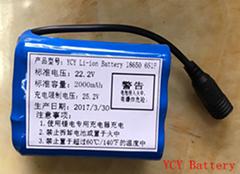 6串組合電池2AH
