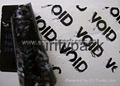 tamper evident security labels