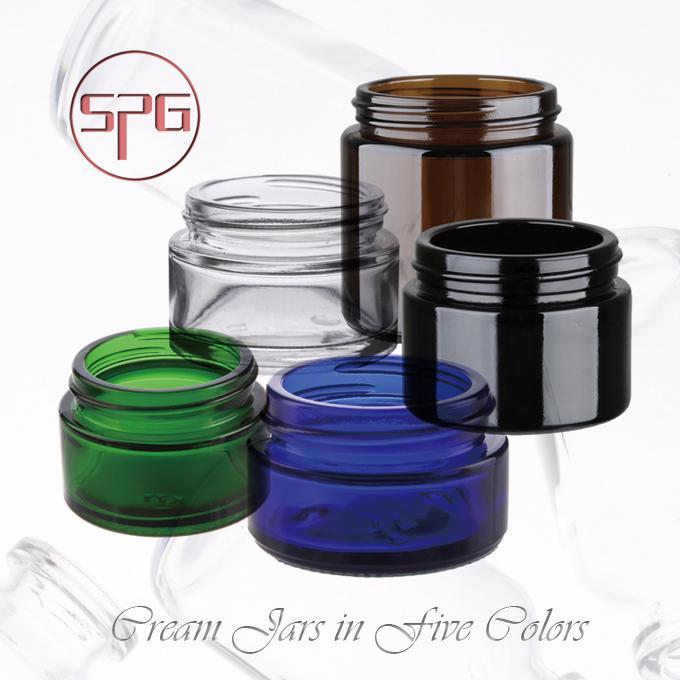 Black color glass bottle 1