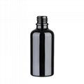 Black color glass bottle 2