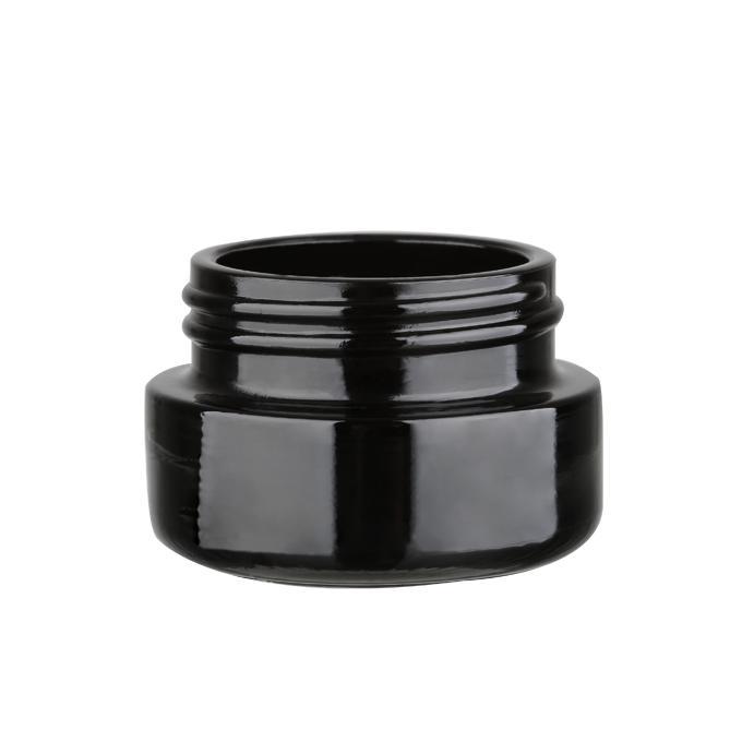 Black color glass bottle 3