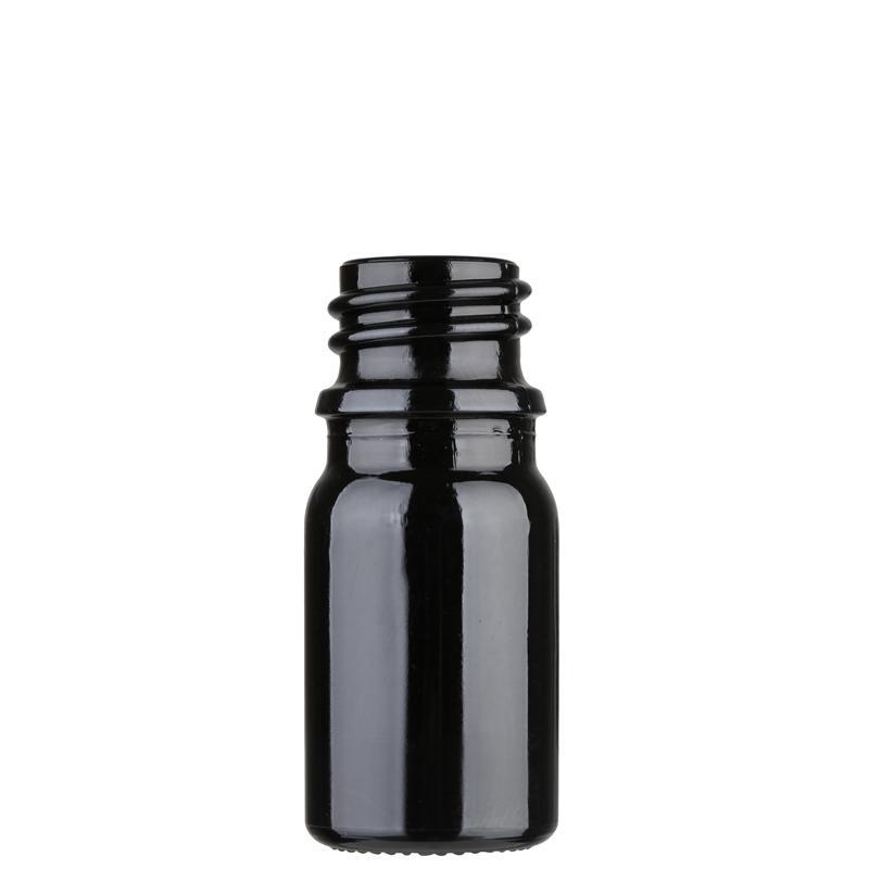 Black color glass bottle 5