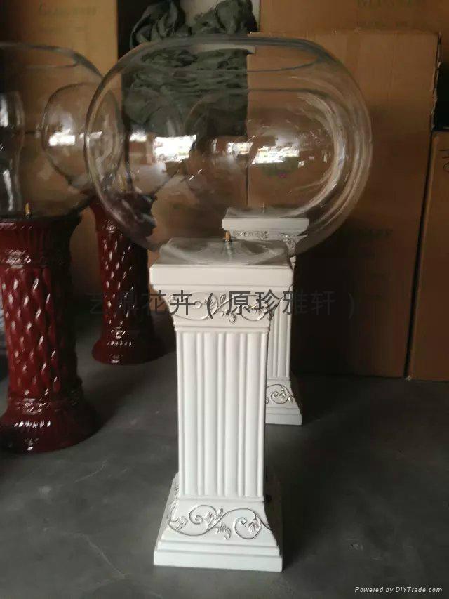 高档电子水培花瓶氧气灯光花瓶 2