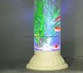無土栽培花卉燈光氧氣水培玻璃花瓶 4