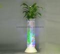 無土栽培花卉燈光氧氣水培玻璃花瓶 5