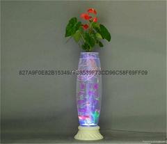 专利灯光氧气水培玻璃花瓶