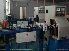 CNC automatic lathe feeder tailings