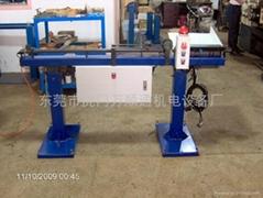 Automatic lathe feeder tailings