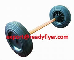Mobile Garbage Bin Wheel and Axle for Plastic Dustbin
