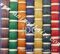 Dyed Horsetail Hair 1