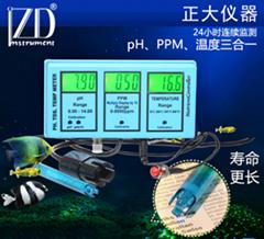 ZDRS-200G pH & TDS,Temp组合监控器(控制器)