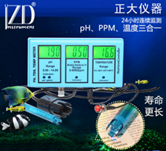 ZDRS-200G pH & TDS,Temp Monitor(3 in 1)