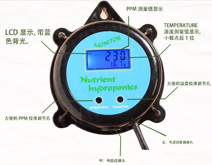 ZDPMT-2108 TDS(PPM)/温度监视器 4