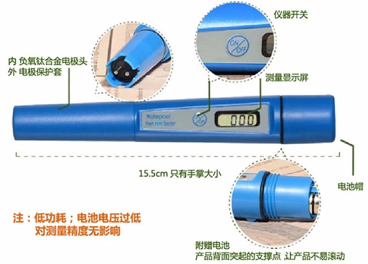 ZDS-PPM全防水型筆式檢測儀 3