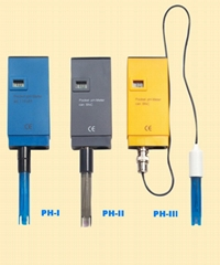 PH-I,PH-II,PH-III(BNC+Cable) 袖珍式pH 计