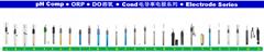 pH 复合电极系列(胶液),电导电极,ORP,DO电极