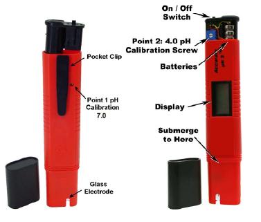 PH-900/PH-900A迷你式pH計 3