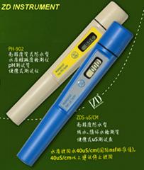 ZD-1900 pH、uS/cm 組合檢測儀 (2 in 1)