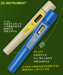 ZD-1900 pH, uS/cm Combination Tester (2 in 1)