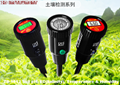 Soil pH,EC,Temp & Humidity Tester