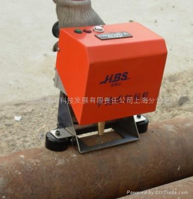 上海汽車發動機打標機 2