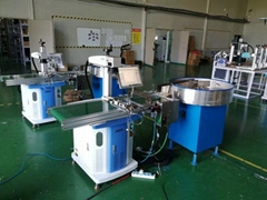 上海旋转盘自动上料轴承打标机轴承流水线打标机