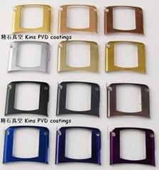 耐磨損耐腐蝕PVD裝飾性彩色鍍膜