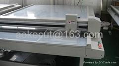 Advertising LED LGP light box glasswork acrylic pmma V cutter machine