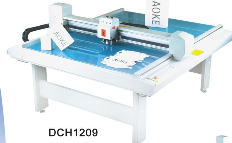 DCH1209 paper box sample maker flatbed cutter table plotter machine 1