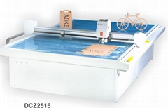 DCZ2516 paper box sample maker flatbed cutter table plotter machine
