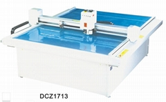 DCZ1713 paper box sample maker flatbed cutter table plotter machine