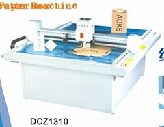 DCZ1310 paper box sample maker flatbed cutter table plotter machine