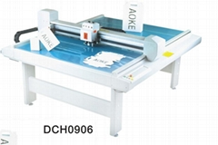 DCH0906 paper box sample maker flatbed cutter table plotter machine