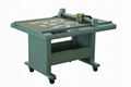 DE0906 shoes paper pattern flatbed sample maker cutter table plotter machine 1