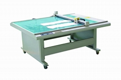 DE1509 costume paper pattern flatbed sample maker cutter table plotter machine