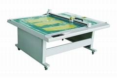 DE1512 costume paper pattern flatbed sample maker cutter table plotter machine