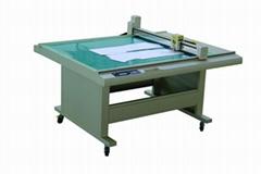 GD1209 costume paper pattern flatbed sample maker cutter table plotter machine