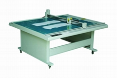 GD1512 costume paper pattern flatbed sample maker cutter table plotter machine