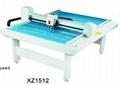 XZ1512 costume paper pattern flatbed sample maker cutter table plotter machine 1