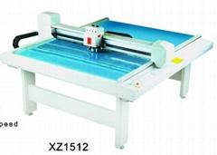 XZ1512 costume paper pattern flatbed sample maker cutter table plotter machine