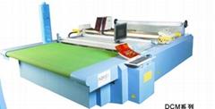 DCM1720-5 multi-layer garment computerized die cutting room flat bed machine