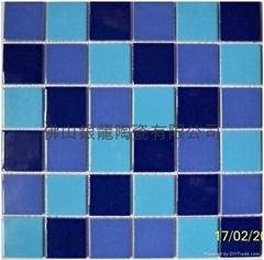 海南陶瓷游泳池马赛克