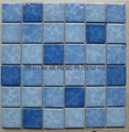 Ceramic kiln swimming pool Mosaic